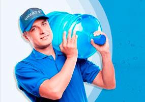 Бутилированная вода «QWERTY»